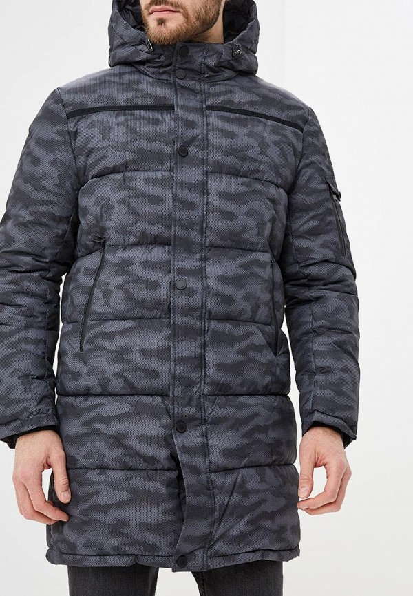 мужская куртка grishko, серая