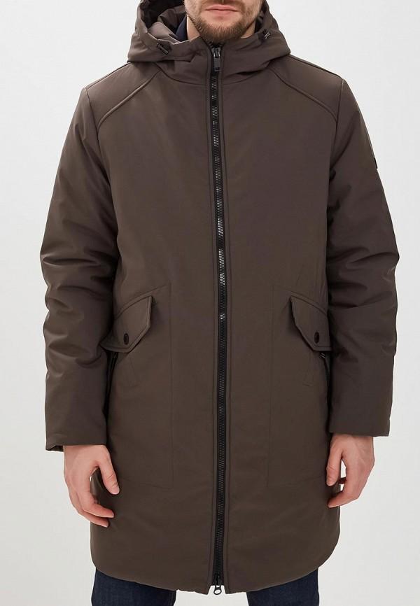 мужская куртка grishko, коричневая