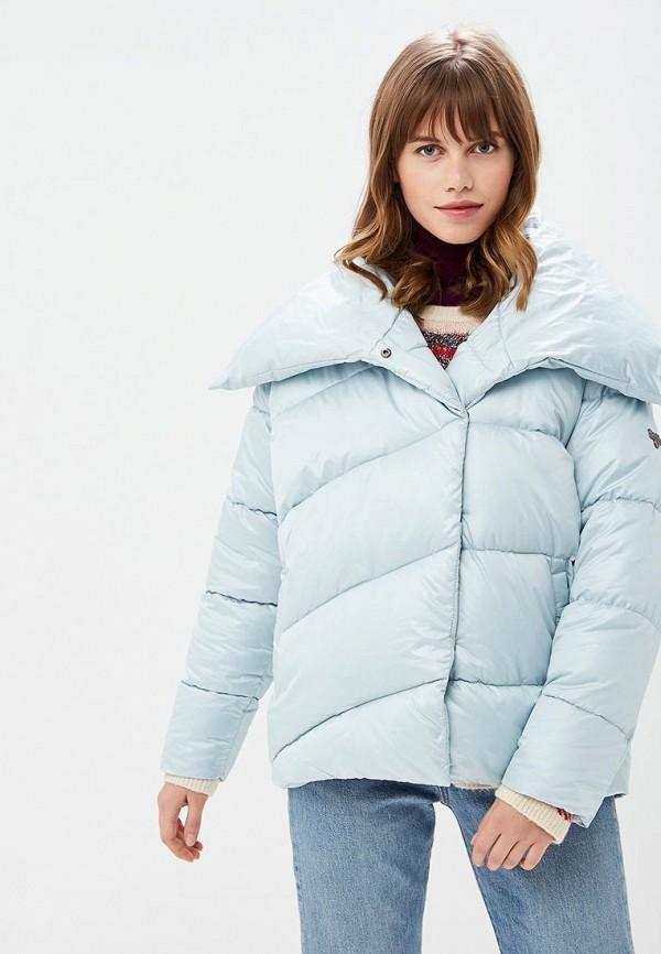 Купить Куртка утепленная Grishko, GR371EWCODV0, голубой, Осень-зима 2018/2019