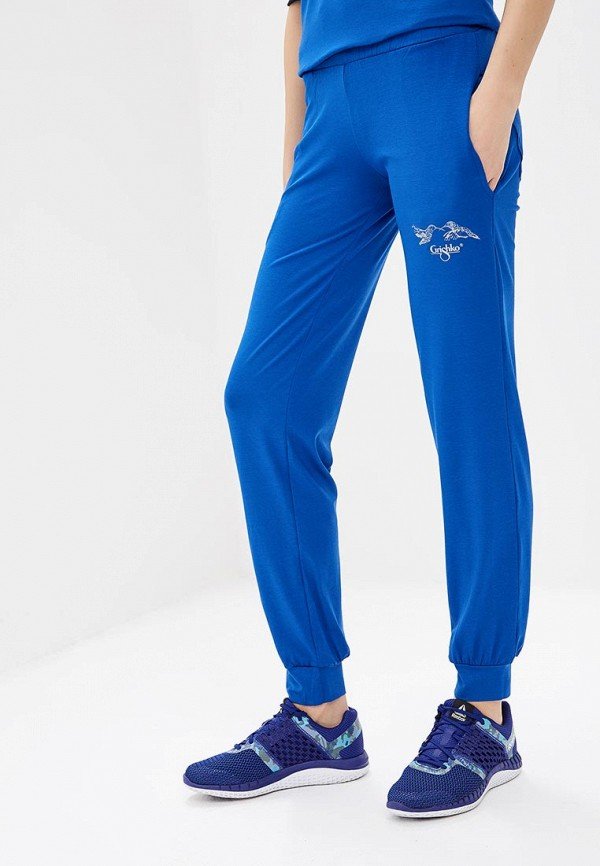Брюки спортивные Grishko Grishko GR371EWERNT1 брюки grishko брюки на резинке