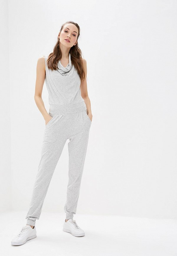женский спортивные комбинезон grishko, серый