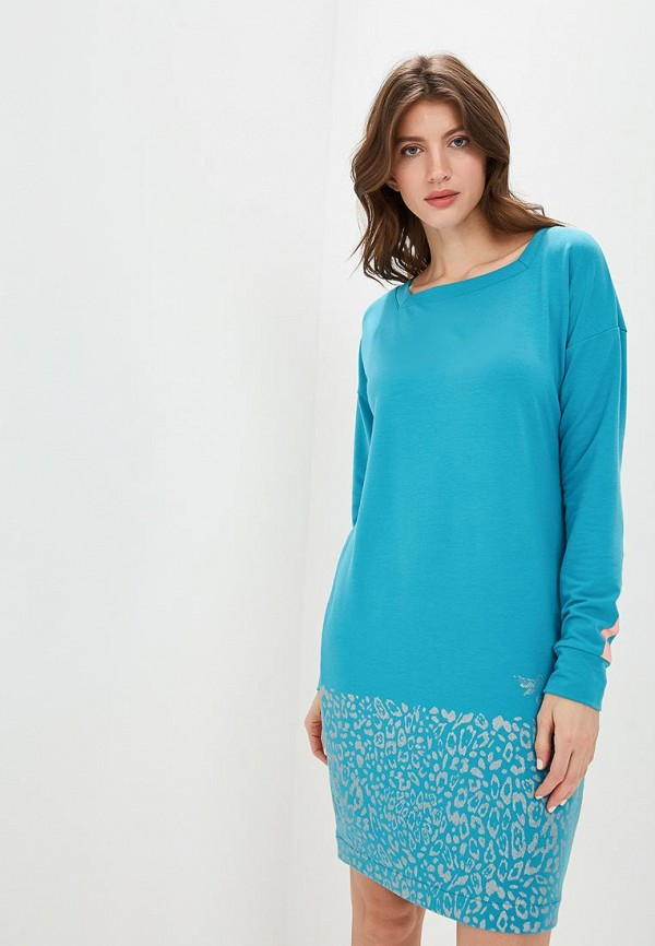 женское спортивные платье grishko, голубое