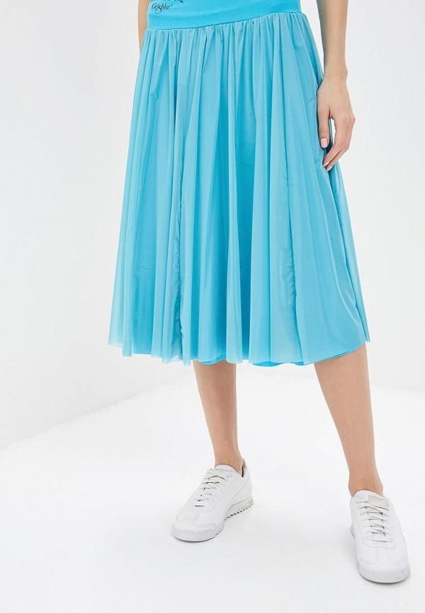 женская спортивные юбка grishko, голубая