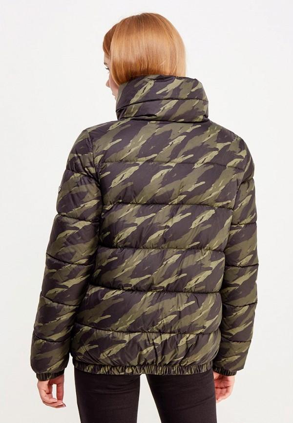 Фото 3 - Куртку утепленная Grishko зеленого цвета