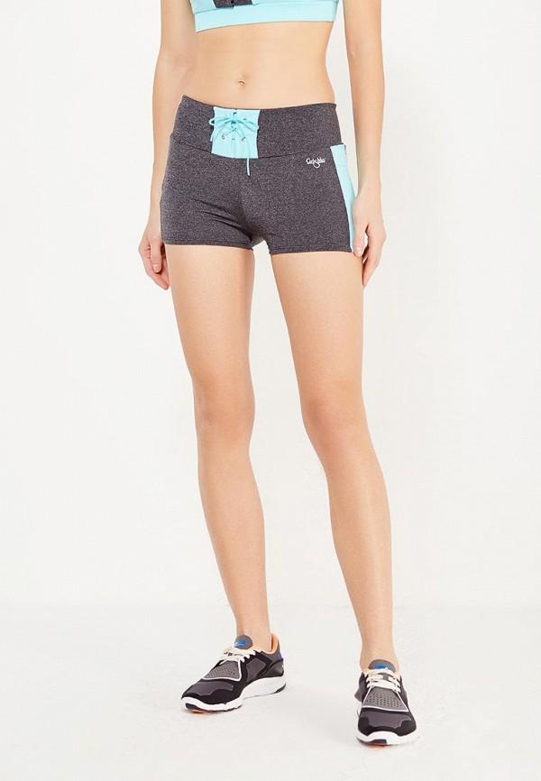 женские спортивные спортивные шорты grishko, серые