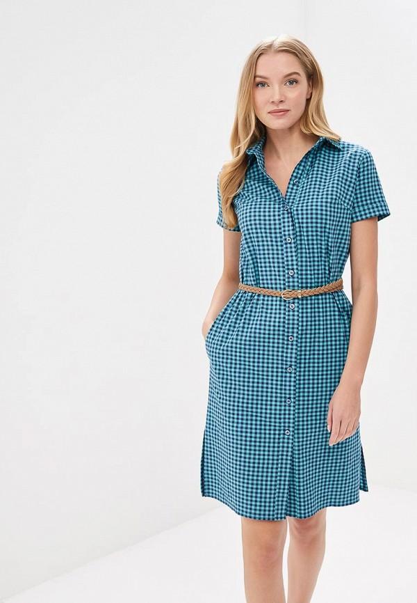 Купить женское платье Gregory голубого цвета