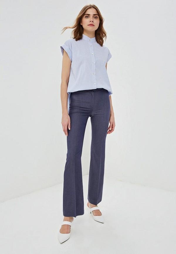 Фото 2 - женские брюки Gregory синего цвета