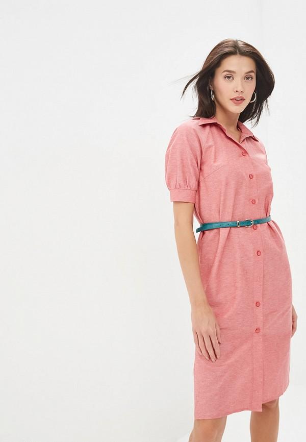 женское повседневные платье gregory, красное