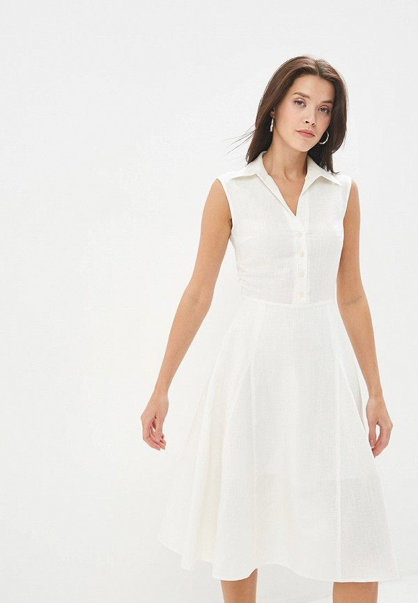 женское повседневные платье gregory, белое