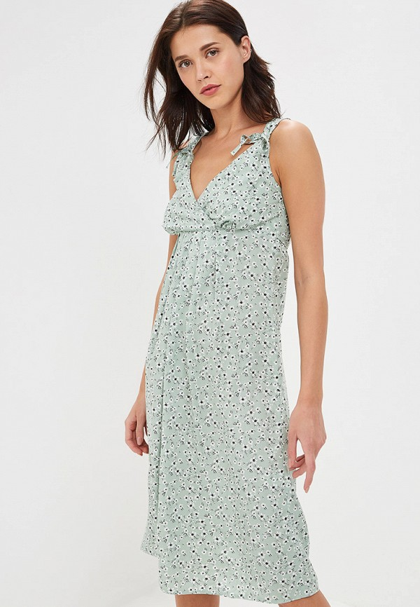 женское повседневные платье gregory, зеленое
