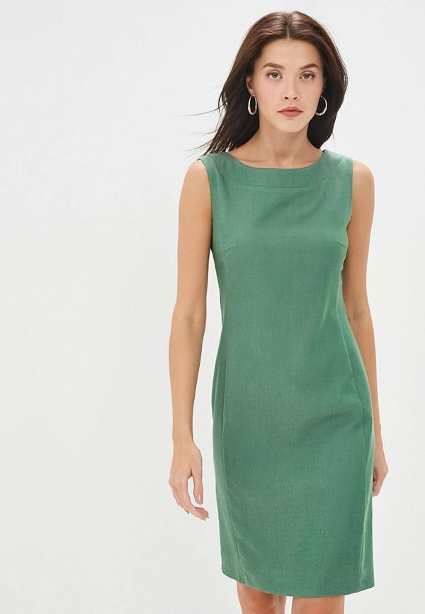 женское платье-футляр gregory, зеленое