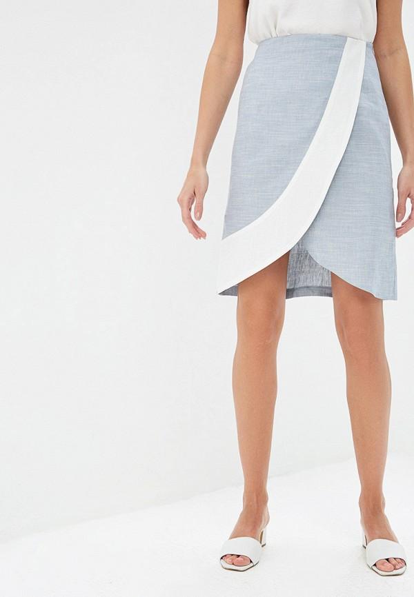 женская юбка gregory, голубая