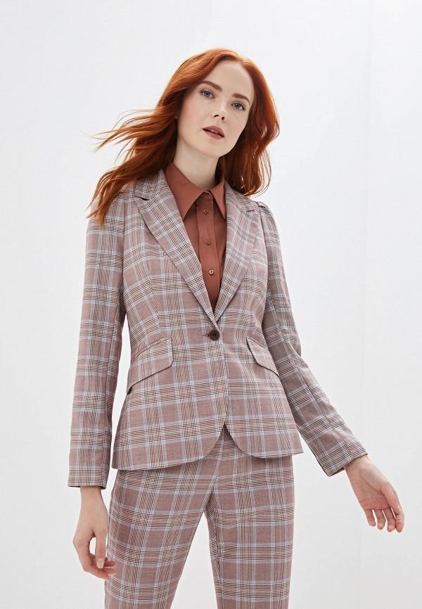 женский пиджак gregory, розовый