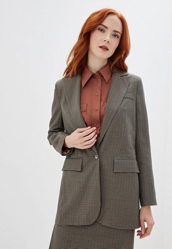 женский пиджак gregory, коричневый