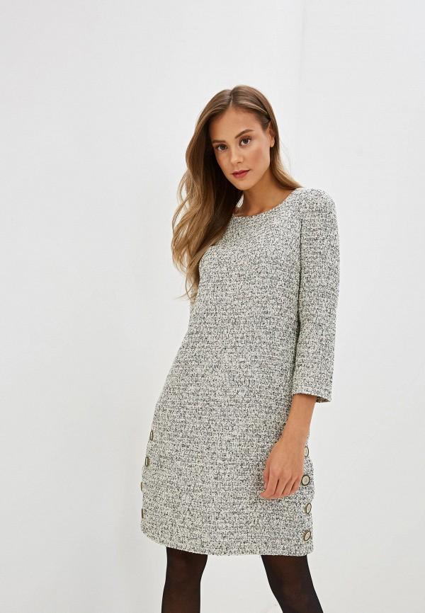 Фото - женское платье Gregory серого цвета