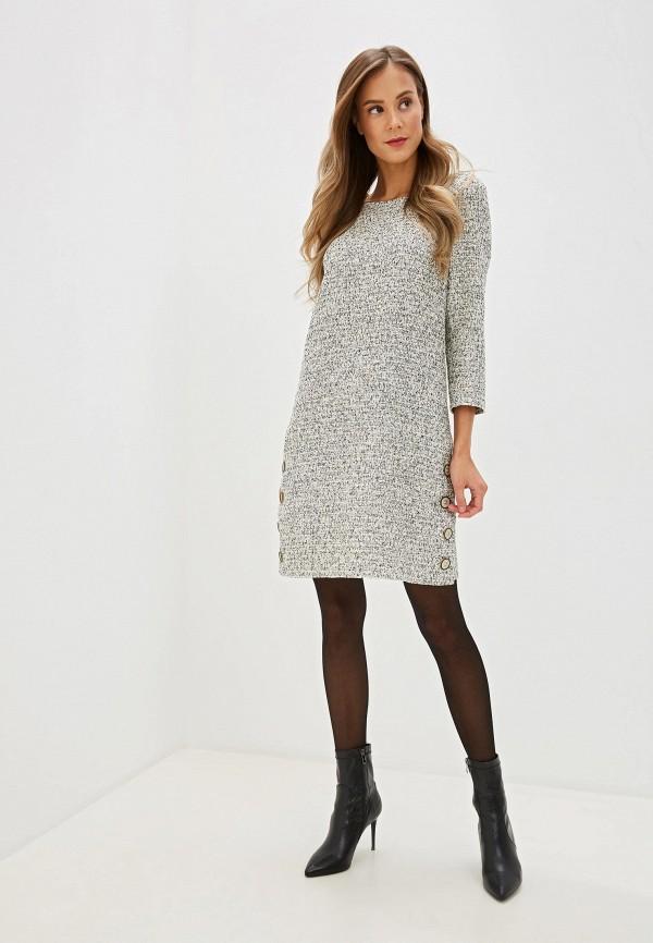 Фото 2 - женское платье Gregory серого цвета