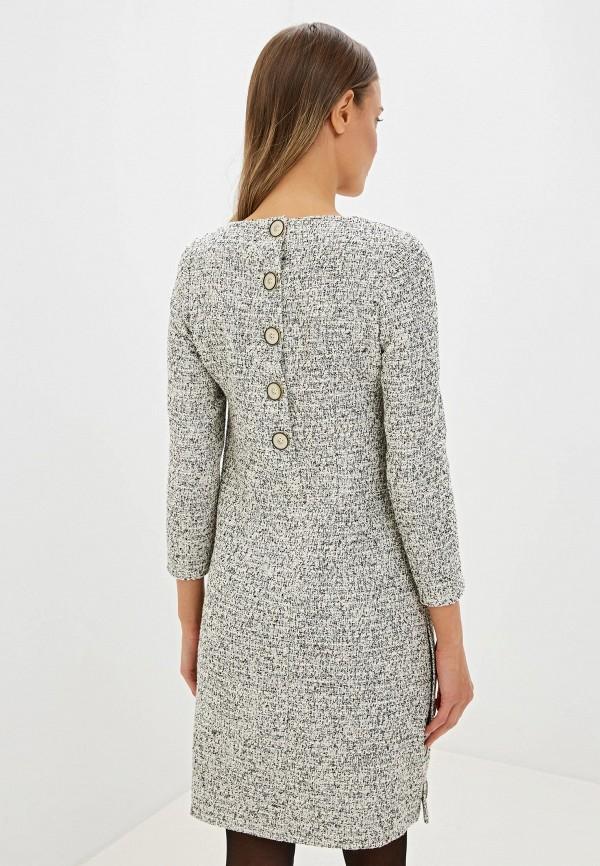 Фото 3 - женское платье Gregory серого цвета