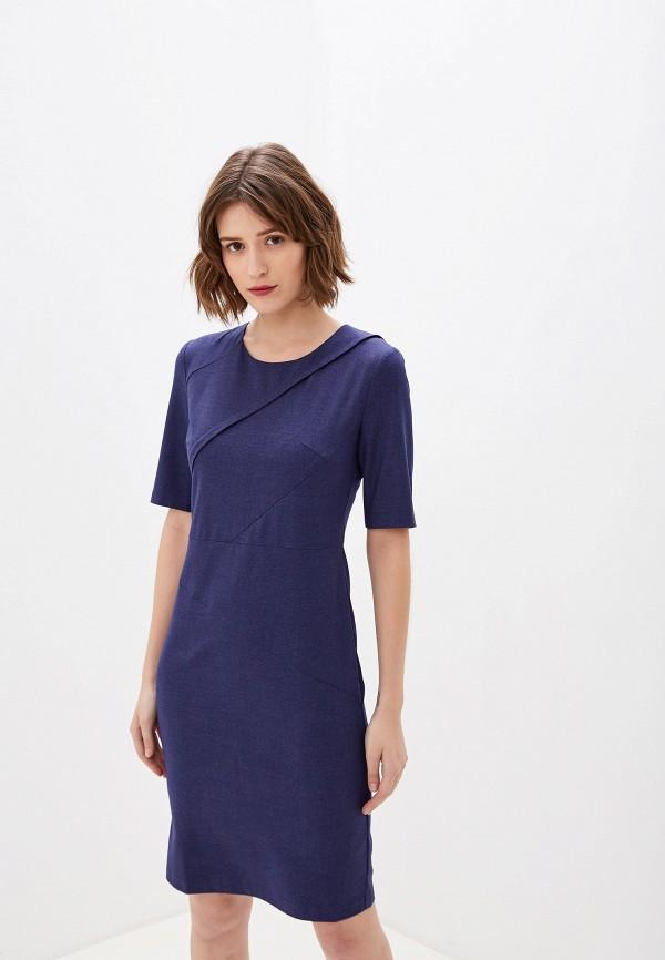 женское повседневные платье gregory, синее