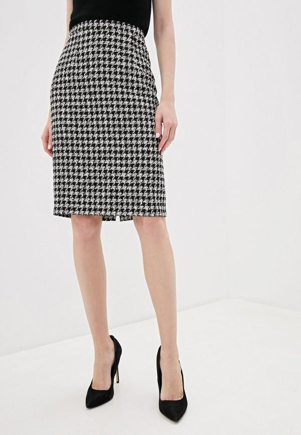 женская прямые юбка gregory, черная