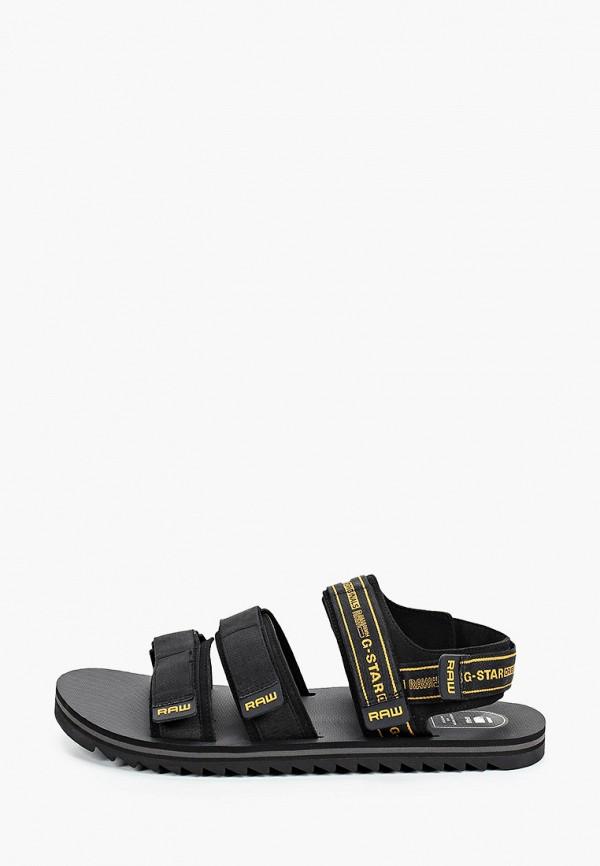 мужские сандалии g-star raw, черные