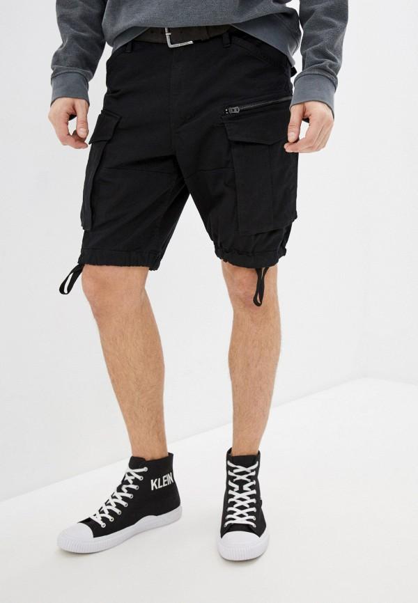 мужские повседневные шорты g-star raw, черные