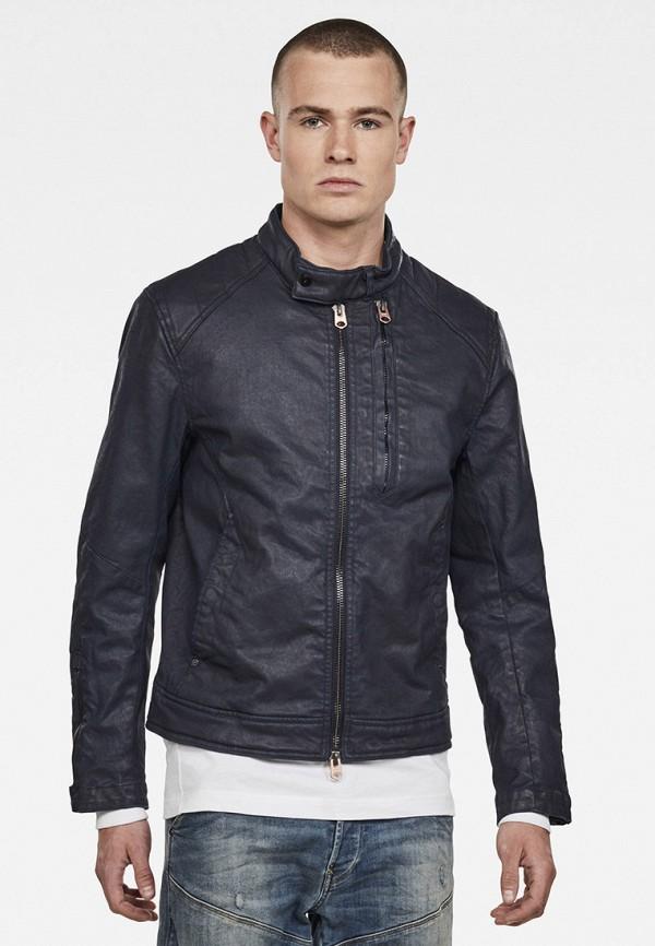 мужская куртка g-star raw, синяя