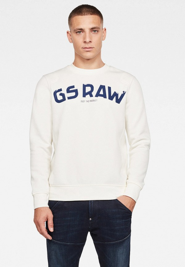 мужской свитшот g-star raw, белый