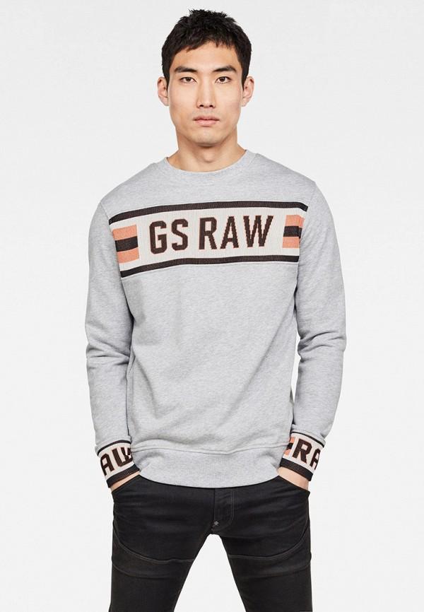 мужской свитшот g-star raw, серый