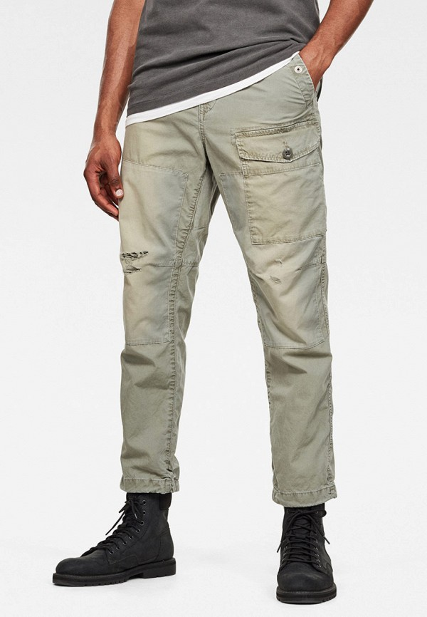 мужские повседневные брюки g-star raw, серые