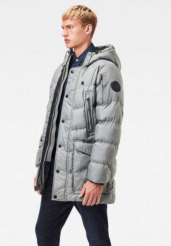 мужская куртка g-star raw, серая