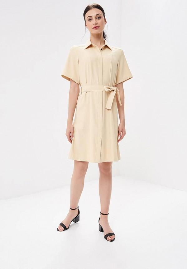 Фото 2 - женское платье G-Star бежевого цвета