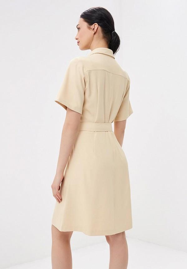 Фото 3 - женское платье G-Star бежевого цвета
