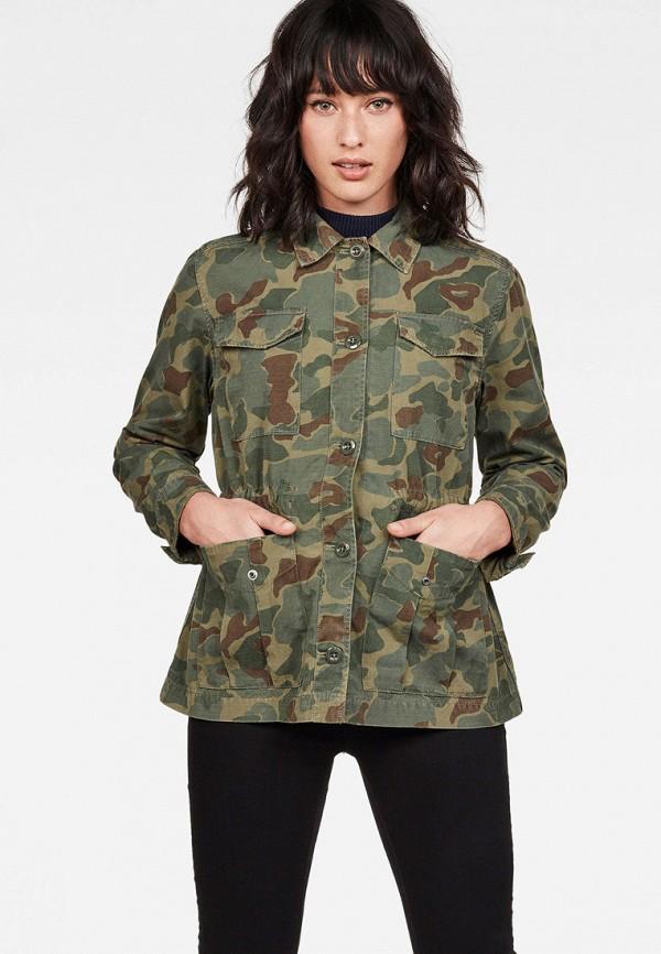 женская куртка g-star raw, хаки