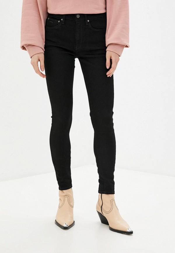 женские джинсы g-star raw, черные