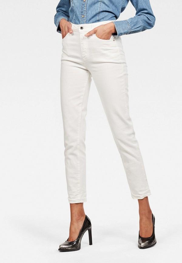 женские джинсы g-star raw, белые