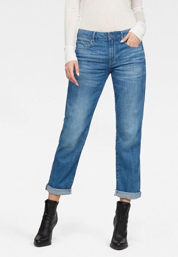 женские прямые джинсы g-star raw, синие
