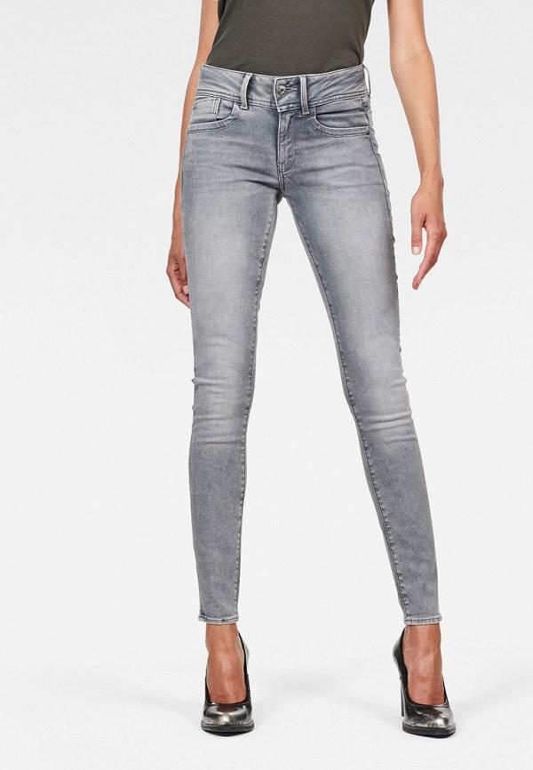 женские джинсы g-star raw, серые