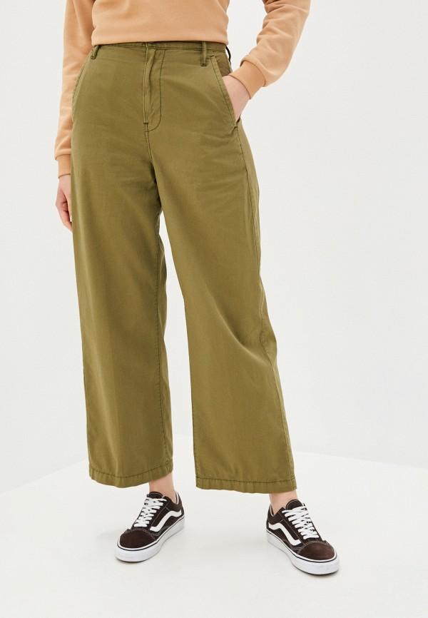 женские повседневные брюки g-star raw, коричневые
