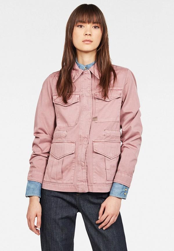 женская легкие куртка g-star raw, розовая