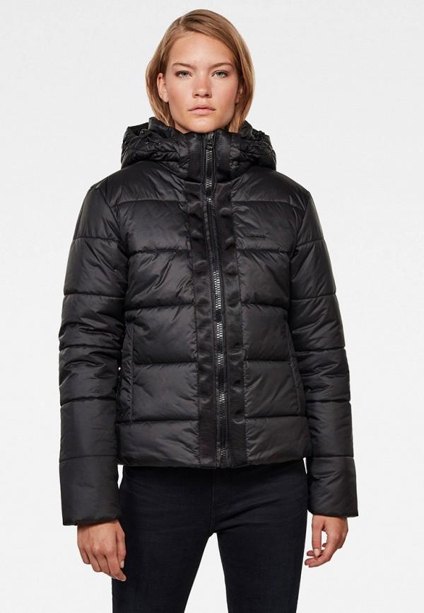 женская куртка g-star raw, черная
