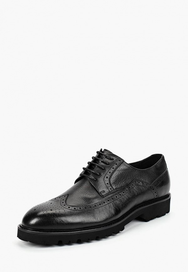 мужские туфли guido grozzi, черные