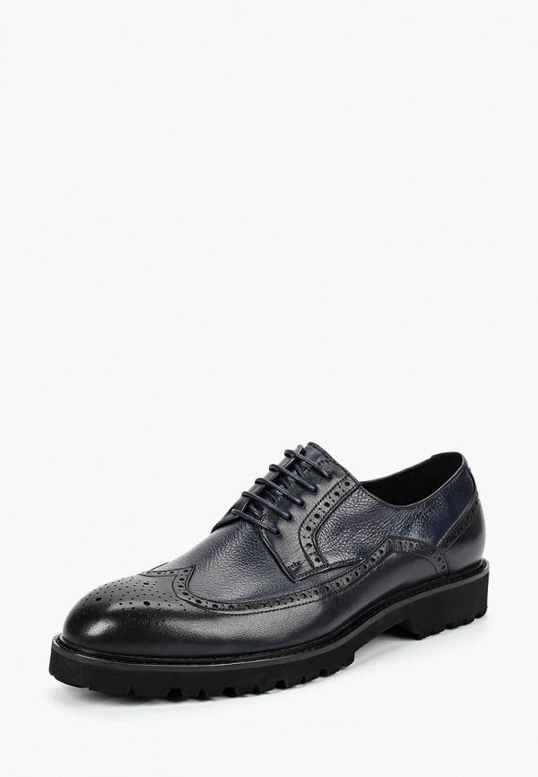 мужские туфли-дерби guido grozzi, синие