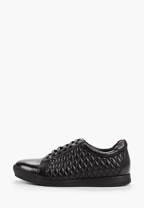 Фото - мужские кроссовки Guido Grozzi черного цвета