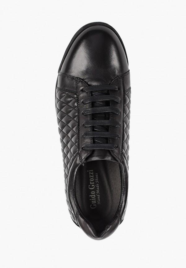 Фото 4 - мужские кроссовки Guido Grozzi черного цвета