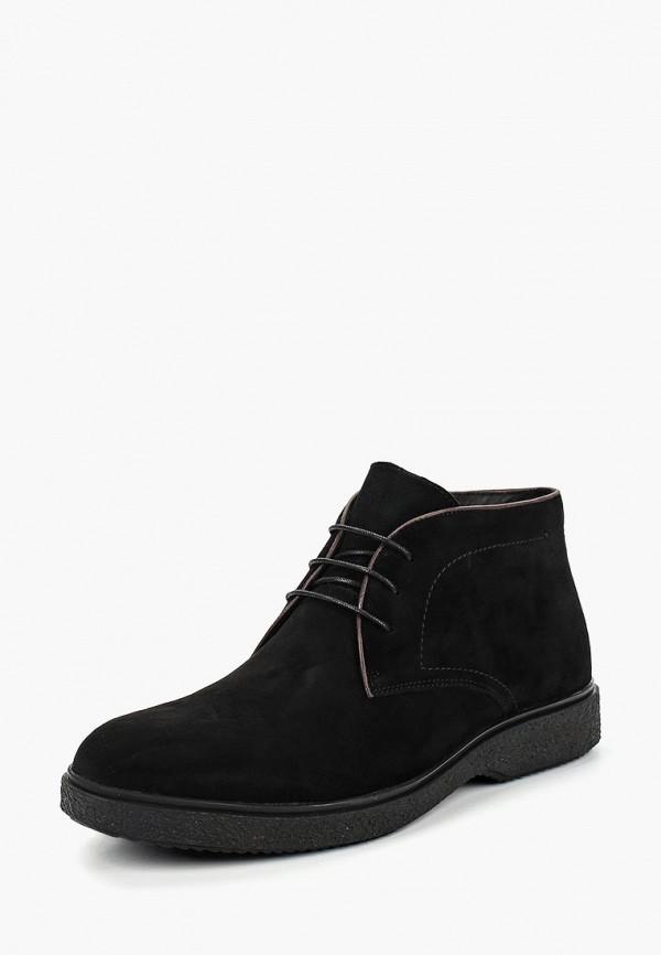 мужские ботинки guido grozzi, черные