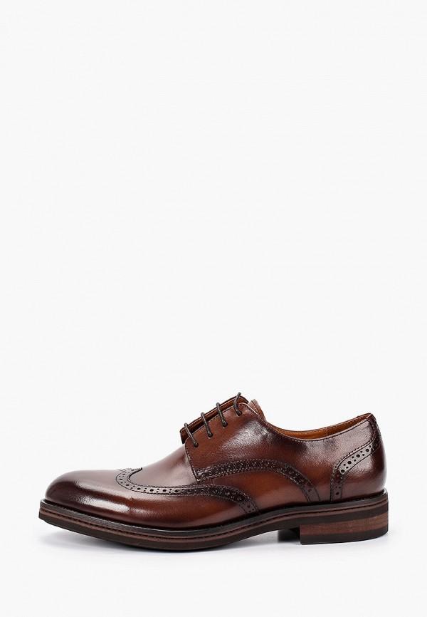 мужские туфли guido grozzi, коричневые