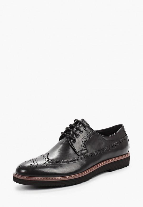 Фото 2 - мужские туфли Guido Grozzi черного цвета