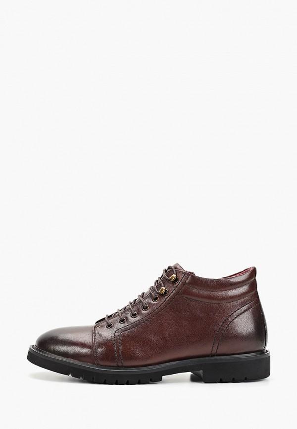 мужские высокие ботинки guido grozzi, коричневые