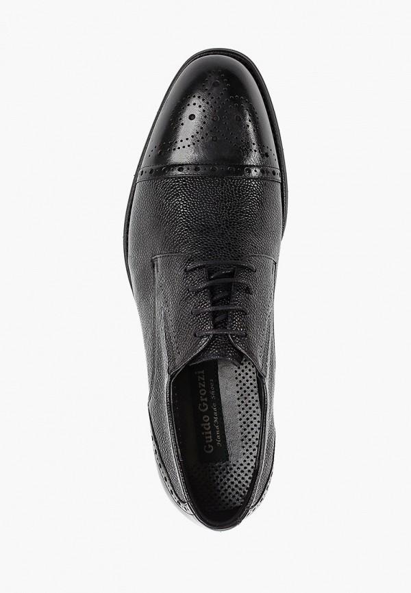 Фото 4 - мужские туфли Guido Grozzi черного цвета