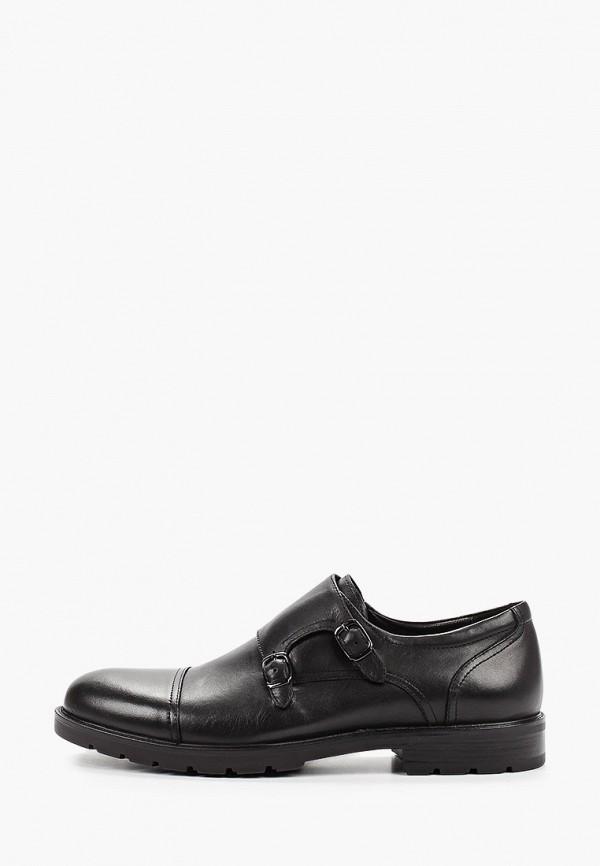 Фото - мужские туфли Guido Grozzi черного цвета